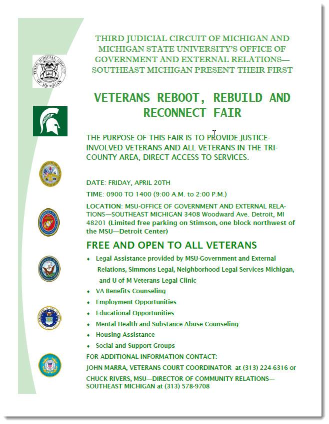 2018 Veterans R3 Fair